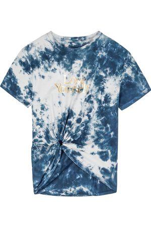 Paco rabanne Women T-shirts - X Peter Saville tie-dyed cotton T-shirt
