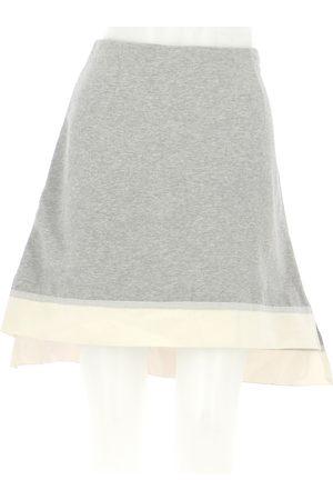Marni Women Skirts - Grey Cotton Skirts