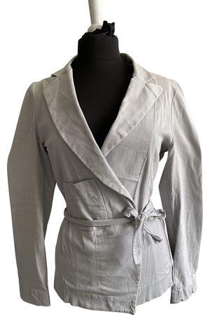 THORNTON BREGAZZI Grey Cotton Jacket