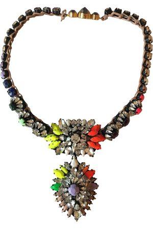 SHOUROUK Multicolour Crystal Necklaces