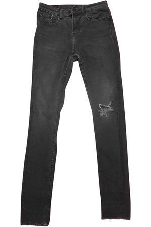 Calvin Klein Anthracite Cotton - elasthane Jeans