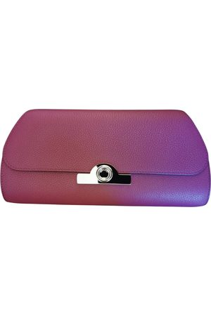 Moynat Leather Clutch Bags