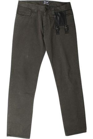 Jean Paul Gaultier Khaki Cotton Jeans
