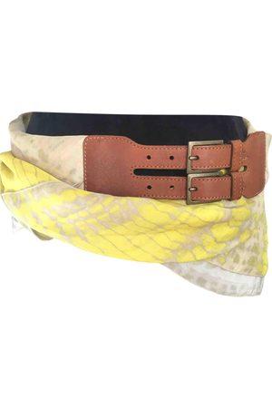 Alexander McQueen Silk Belts