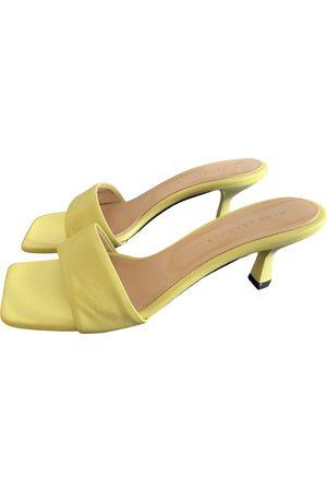 Dear Frances Leather Sandals