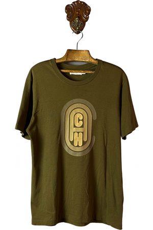 Coach Men T-shirts - Khaki Cotton T-shirt
