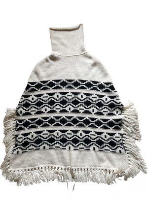 Maje Ecru Wool Jackets