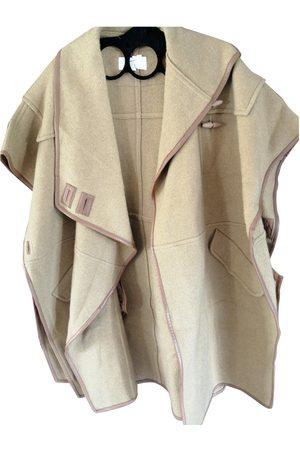 Chloé Women Jackets - Camel Wool Jackets