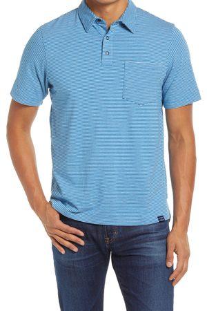 L.L.BEAN Men's Allagash Stripe Polo Shirt
