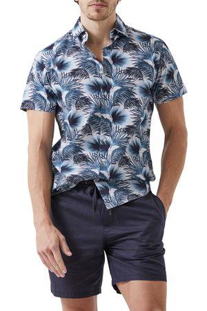 Rodd & Gunn Men's Picton Leaf Print Short Sleeve Button-Up Shirt