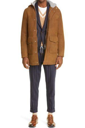ELEVENTY Men's Cable Tipped Cashmere-Blend Vest