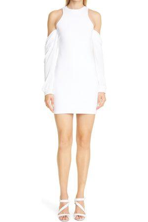 RTA Women's Casey Cold Shoulder Long Sleeve Minidress