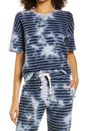 SOL ANGELES Women Sweats - Women's Cataline Cloud Crop Lounge T-Shirt