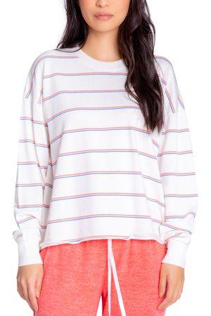 P.J.Salvage Women Sweats - Women's Kind Rule Stripe Lounge T-Shirt