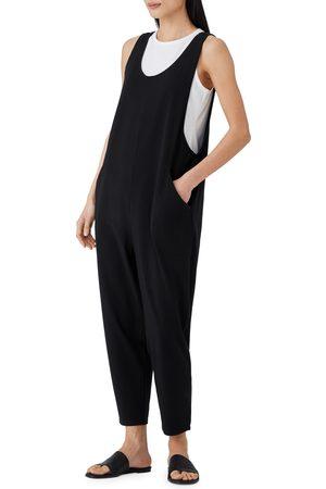 Eileen Fisher Women's Scoop Neck Slouchy Crop Jumpsuit