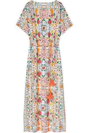 Tory Burch Women Printed Dresses - Women's Print Long Caftan