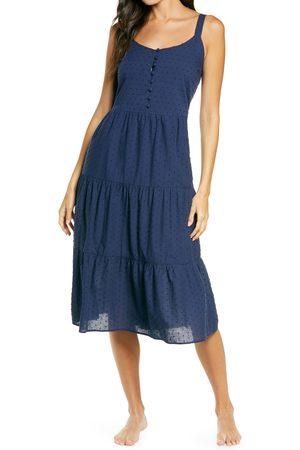 Nordstrom Women's Romantic Swiss Dot A-Line Nightgown