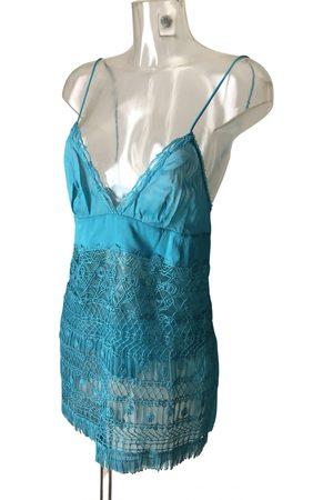 La Perla Turquoise Cotton Lingerie