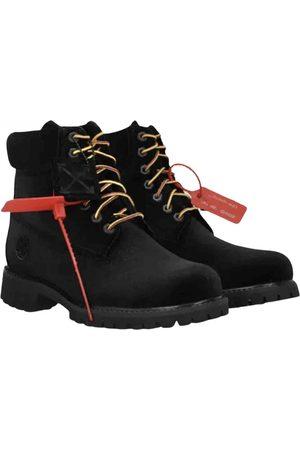 OFF-WHITE Velvet Boots