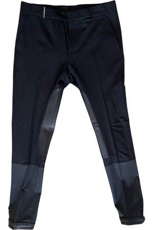 Les Hommes Men Leather Pants - Leather Trousers