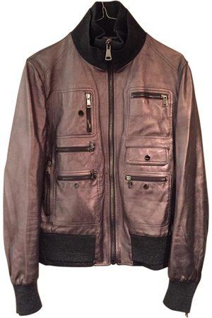 Dolce & Gabbana Metallic Leather Jackets