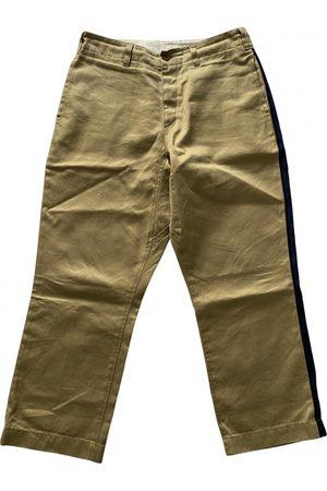 Champion Camel Cotton Trousers