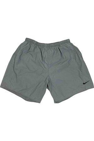 Nike Grey Polyester Shorts