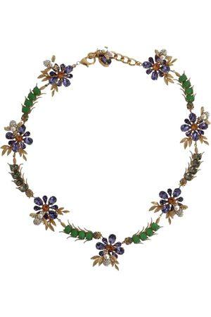 Dolce & Gabbana Multicolour Crystal Necklaces