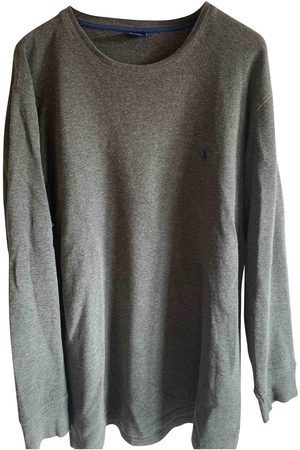 Polo Ralph Lauren Grey Cotton Knitwear & Sweatshirts
