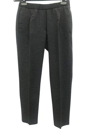 Brunello Cucinelli Grey Wool Trousers