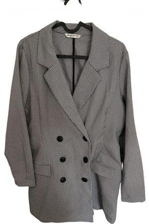 Stradivarius Grey Cotton Jumpsuits