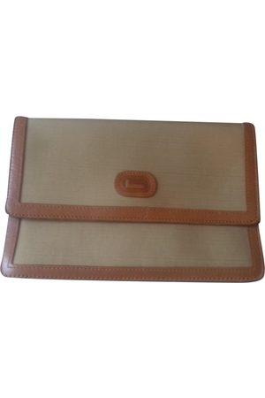 LANCEL Cloth Clutch Bags