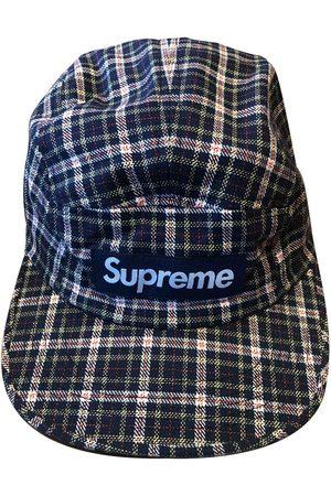 Supreme Multicolour Cloth Hats & Pull ON Hats