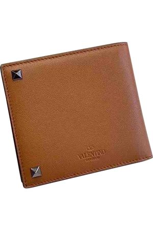VALENTINO GARAVANI Camel Leather Small Bags\, Wallets & Cases