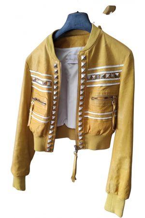 ANNA BIAGINI Leather biker jacket