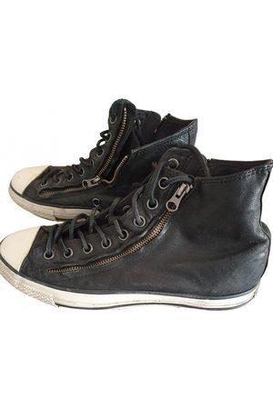 John Varvatos Leather Trainers