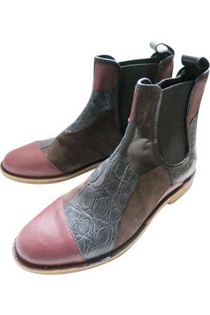 Bottega Veneta Multicolour Leather Boots