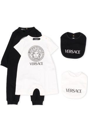 VERSACE Bodysuits & All-In-Ones - Medusa logo print baby grow set
