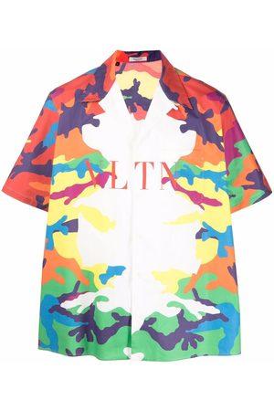 VALENTINO CAMOU7 print shirt - Neutrals