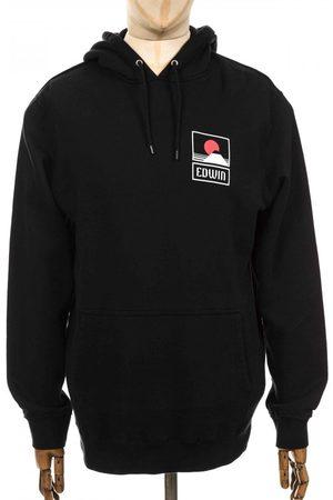 Edwin Men Denim - Jeans Sunset on Mt Fuji Hooded Sweatshirt