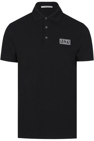 VALENTINO VLTN Logo Patch Polo Shirt