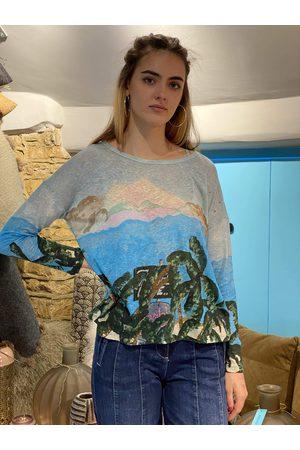iBlues Women Long sleeves - Tropico Long Sleeve Fine Knit Top