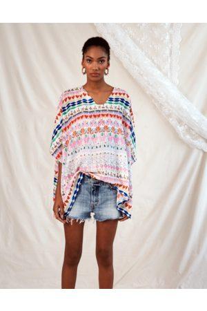 Jessica Russell Flint Kaftan Top Okapi Happy