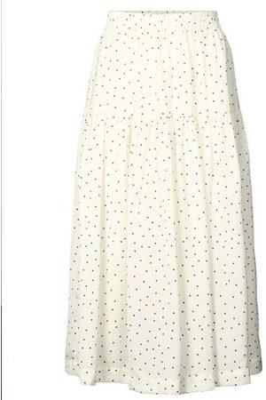 Lollys Laundry Cokko Skirt Creme Dot Print