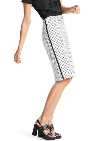 Marc Cain Printed Stretch Skirt