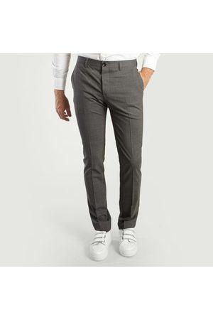 Paul Smith Men Formal Pants - Suit Trousers Grey