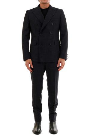 Tonello Men Suits - Gray Wool Suit