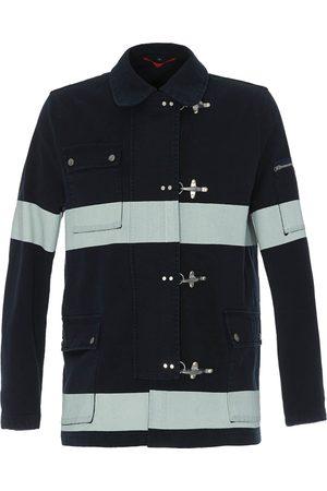 FAY 4 Ganci bicolour striped denim jacket