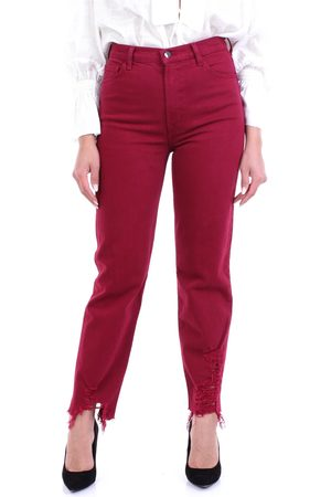J Brand Jeans Straight Women Magenta
