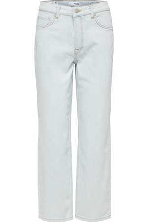SELECTED Women Straight - Kate Bright Straight Jeans